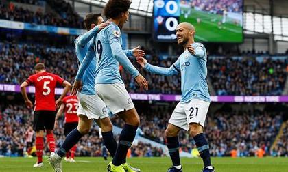 Man City - Southampton: 18 phút thăng hoa khơi màn 'đại tiệc' 7 bàn