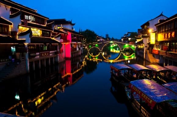 Từ bến Thượng Hải quay ngược về quá khứ tại những thị trấn lãng mạn này - 1
