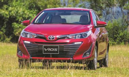 Top 10 xe bán chạy tháng 10/2018: Vios tiếp tục dẫn đầu với kỷ lục 2477 xe bán ra