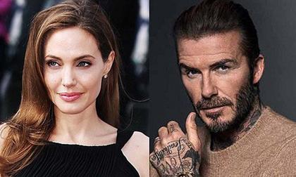 Angelina Jolie lại tán tỉnh một người đàn ông có gia đình, lần này là David Beckham?