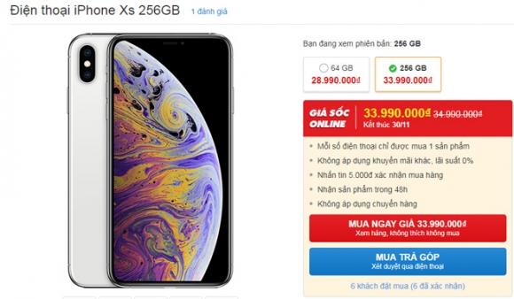 """NÓNG: Bộ ba iPhone 2018 lần đầu tiên giảm giá """"sốc"""" - 2"""