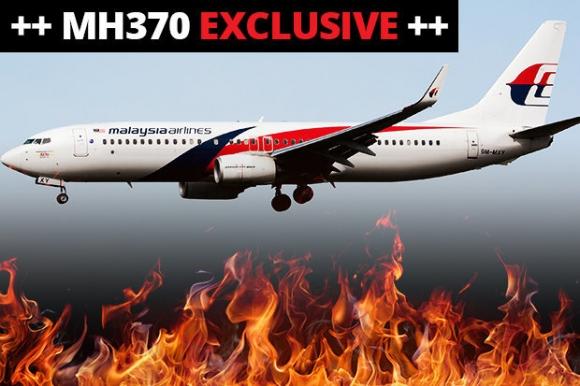 """Máy bay MH370 bốc cháy nhiều giờ trên trời như """"quan tài bay""""? - 1"""