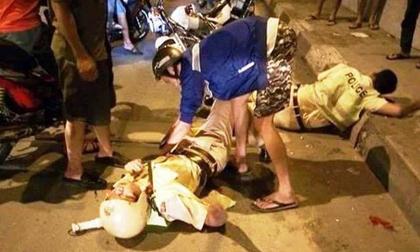 Thái Bình: 3 thanh niên đến giải cứu người bạn bị tai nạn liền rút dao đâm 2 chiến sỹ CSGT