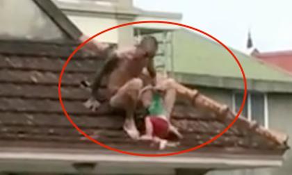 Thả con từ tầng 3 xuống để tìm vợ, thanh niên gây náo loạn thành Vinh