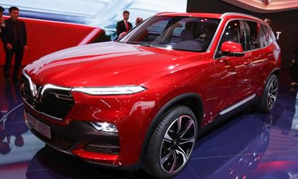 Giá lăn bánh các mẫu xe VinFast: Xe cỡ nhỏ Fadil từ 436 triệu đồng