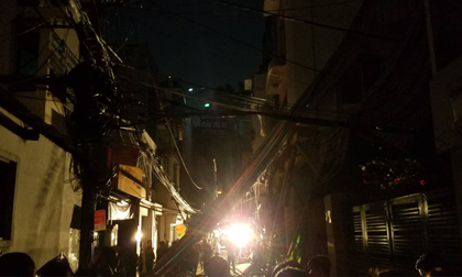 Sập giàn giáo ở trung tâm Sài Gòn lúc giữa đêm, 1 người chết