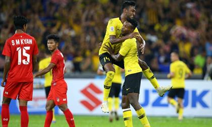Thắng đậm Myanmar, Malaysia theo Việt Nam vào bán kết