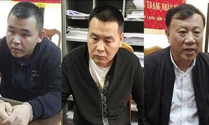 Phục bắt 3 đối tượng bị truy nã ở Trung Quốc trốn sang Việt Nam