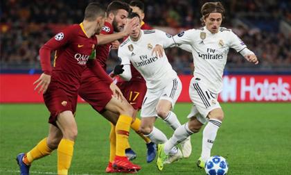 Thắng dễ Roma 2-0, Real đoạt ngôi đầu bảng G