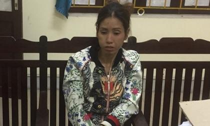 Nữ quái ở Vinh bị bắt cùng 2 bánh heroin và 8 nghìn viên ma tuý