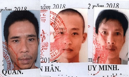 3 phạm nhân phạm tội ma túy và giết người trốn khỏi trại giam