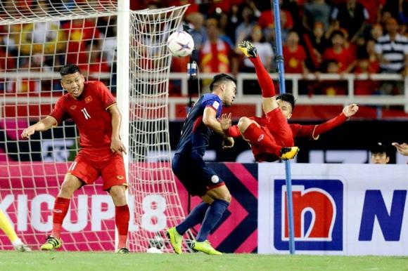 Ru Philippines giấc say nồng, Quang Hải, Công Phượng hiên ngang giật vé vào chung kết - Ảnh 2.