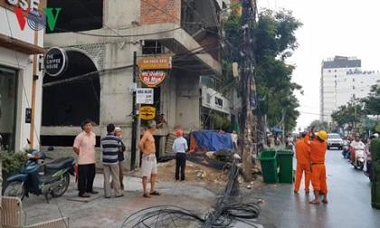 Đà Nẵng: Cháy nổ hệ thống điện nghi do thi công công trình