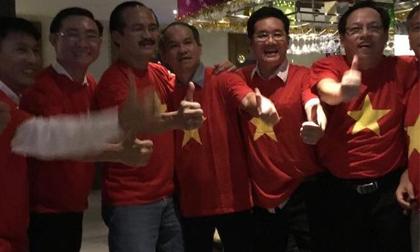 Bầu Đức ở đâu trong đêm tuyển Việt Nam đăng quang AFF Cup 2018?