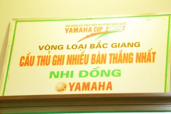 Đây là bằng khen được trao cho Quang Hải từ khi cậu ấy còn là một cầu thủ nhí
