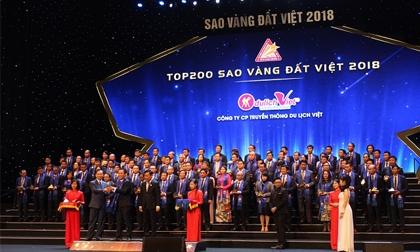 Công ty Du lịch Việt tỏa sáng trong lần thứ 2 liên tiếp nhận giải thưởng Sao Vàng đất Việt