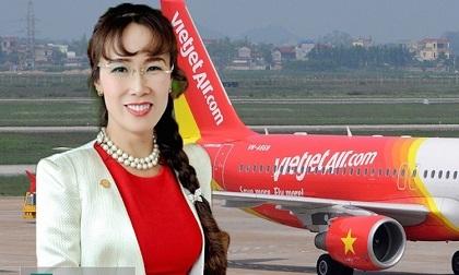 """Máy bay gặp sự cố nghiêm trọng, nữ tỷ phú USD Việt bay"""" ngay hơn 300 tỷ đồng"""