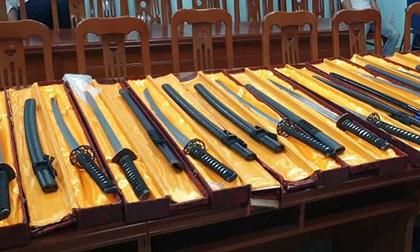 Bộ Công an đánh sập đường dây buôn bán vũ khí thô sơ cực lớn ở TP.HCM