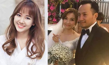 Hari Won chúc mừng Tiến Đạt: 'Hạnh phúc mãi nha anh'