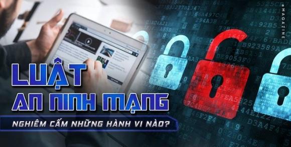Từ hôm nay (1/1/2019), Luật An ninh mạng chính thức có hiệu lực