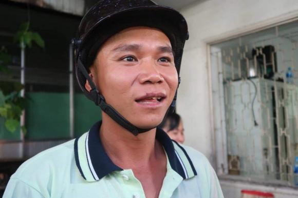 """vu tai nan tham khoc o ben luc-long an: """"co 2 nguoi bi xe container keo di mot doan dai"""" - 1"""