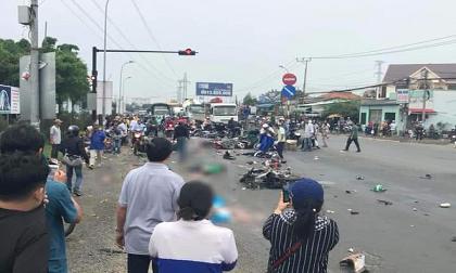 Nguyên nhân bất ngờ vụ xe container gây tai nạn thảm khốc khiến hơn 20 người thương vong