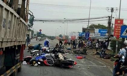 Vụ xe container gây tai nạn thảm khốc ở Long An: Tài xế ra trình diện