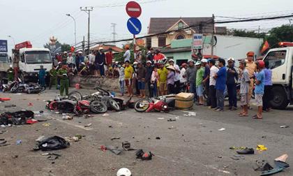 Vụ tai nạn kinh hoàng, 4 người chết ở Long An: Tài xế dương tính với ma túy khai gì?