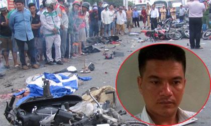 Tai nạn Bến Lức- Long An: Tài xế container tông hàng chục xe máy dương tính với ma túy