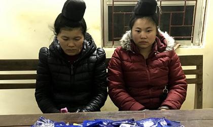 Bắt 2 'nữ quái' mua bán hơn 17 nghìn viên ma túy tổng hợp