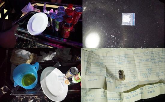 25 nam nữ quay cuồng trong phòng karaoke Tổng thống có ma túy - Ảnh 1.