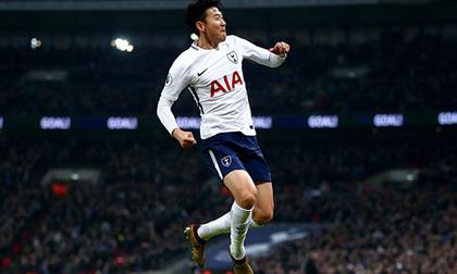 Son Heung-min tiếp tục trở thành Cầu thủ xuất sắc nhất châu Á năm 2018