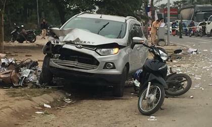 Lái xe ô tô gây tai nạn liên hoàn khiến 2 vợ chồng tử vong ra trình diện