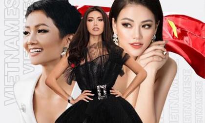 Việt Nam có 3 cái tên lọt top 25 cô gái đẹp nhất TG, tưởng H'Hen Niê đứng đầu nhưng....