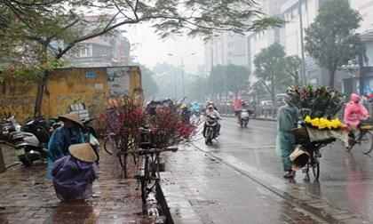 Dự báo thời tiết 10/1: Hà Nội mưa, rét 12 độ