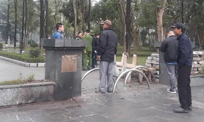 Thực hư thông tin bắt 2 nam thợ xây liên quan đến cái chết của cô gái trong vườn hoa Hà Nội