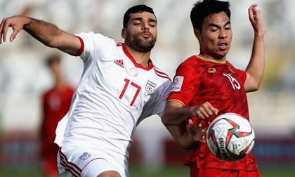 Thua Iran, cơ hội nào cho Việt Nam vào vòng 16 đội Asian Cup?
