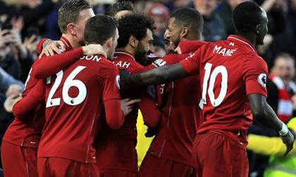 Salah ghi bàn giúp Liverpool bỏ xa Man City 7 điểm