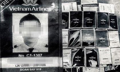 Bắt giữ cơ trưởng Vietnam Airlines buôn lậu