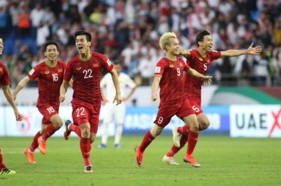 ĐT Viêt Nam thuộc top 8 châu Á: Ai