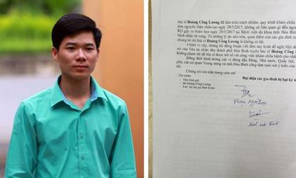 Người nhà nạn nhân đồng loạt kêu gọi Tòa án minh oan cho bác sĩ Hoàng Công Lương