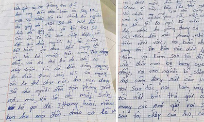 Kẻ cướp gửi thư xin lỗi, trả 100 triệu cho nạn nhân ở Bình Dương vẫn sẽ bị xử lý hình sự?