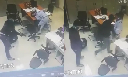 Cướp táo tợn cầm súng đột nhập trạm thu phí TP.HCM - Long Thành - Dầu Giây