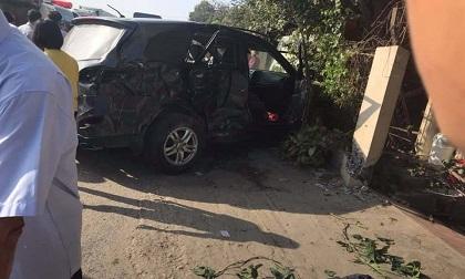 Tai nạn kinh hoàng khi đi chúc Tết, 7 người trong gia đình bị thương