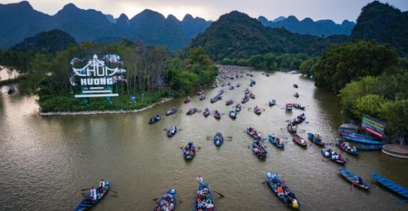 Lễ hội chùa Hương bắt đầu vào ngày hôm nay Mồng 6 tháng Giêng.