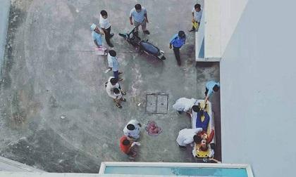 Rơi từ tầng lầu bệnh viện xuống đất, cô gái trẻ tử vong