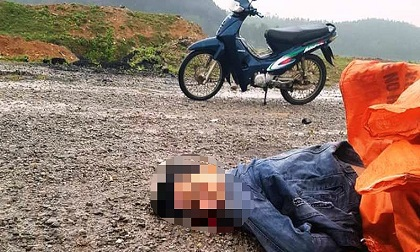 Người đàn ông tử vong bất thường trên đường