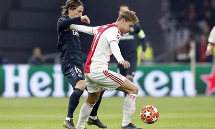 Real Madrid hạ Ajax bằng tuyệt đỉnh phản công