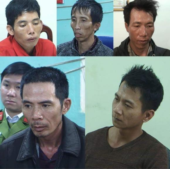 Chân dung 5 đối tượng hiếp dâm, sát hại nữ sinh ship gà ở Điện Biên - 1