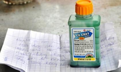 Cặp vợ chồng khiếm thính uống thuốc diệt cỏ tự tử trong phòng trọ